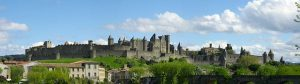 Castle of Carcassonne in the South of France