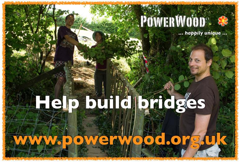 Help build bridges