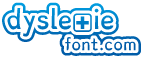 Logo 2 dyslexie